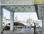 """Baltschug"". Series of watercolors ""Moscow akyn"""