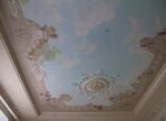 Plafond in the private apartment