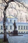 """Monument of Fridtjof Nansen"". Series of watercolors ""Moscow akyn"""